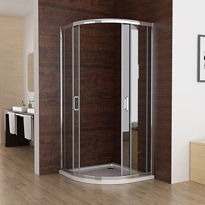 80 x 80 cm cabinas de ducha redonda ducha Mampara de puerta ...