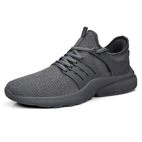 nouveau style 8576c d7b4a ZOCAVIA Chaussure de Sport Chaussures Mixte Sneakers Homme Femme Baskets  Chaussures Running Légère