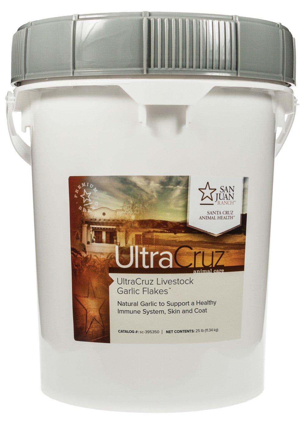 UltraCruz Garlic Flakes Supplement, 25 lbs.