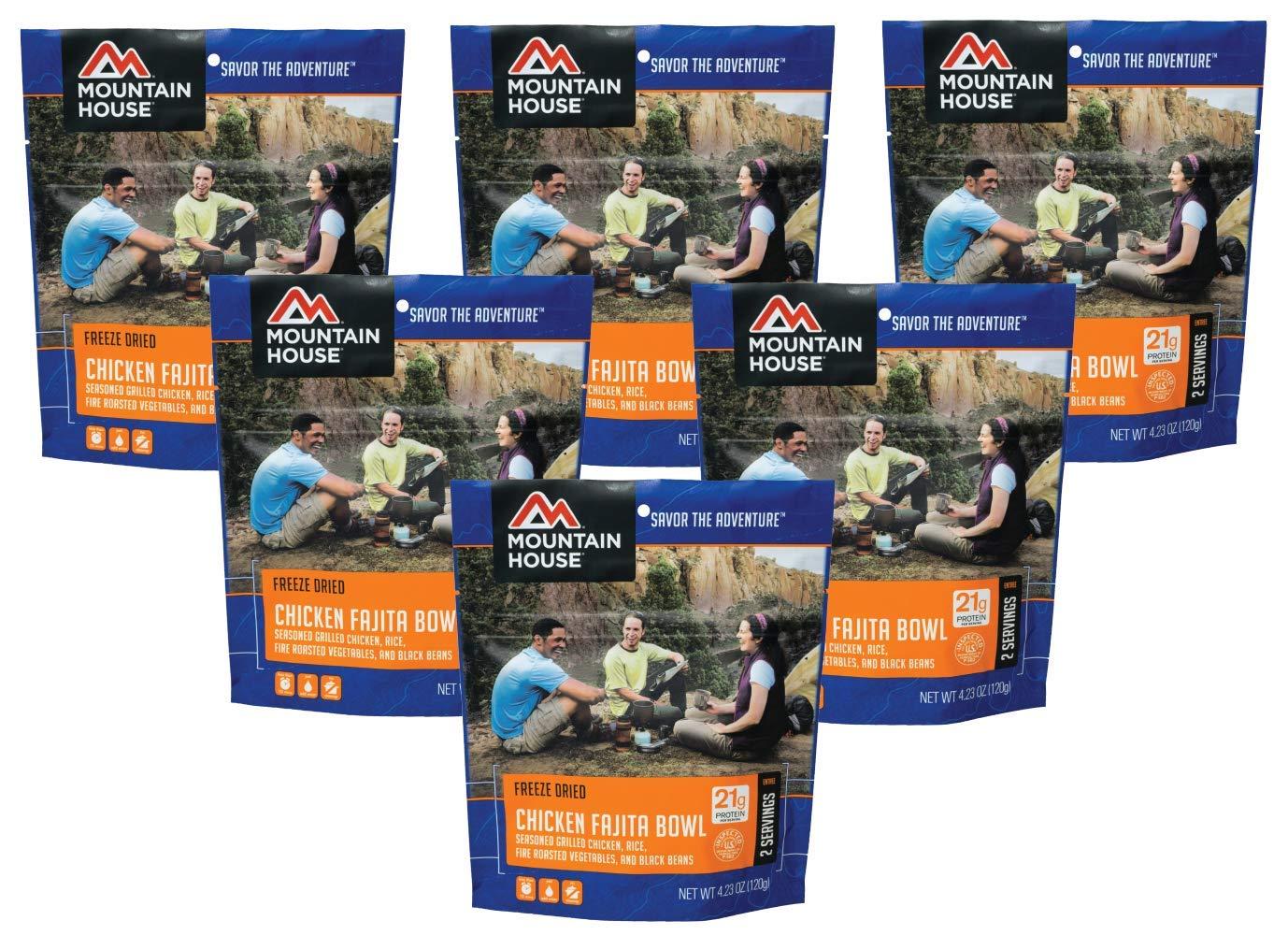 Mountain House Chicken Fajita Bowl - 6-Pack by Mountain House