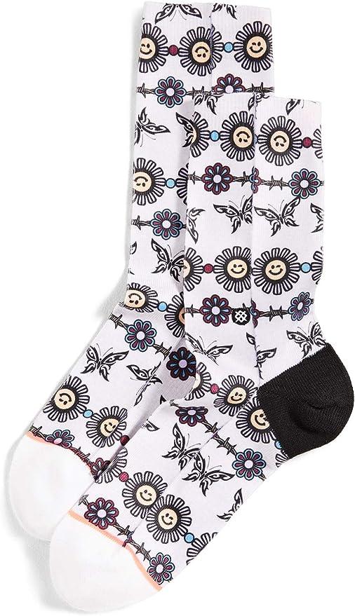 Small STANCE Womens Daisy Chain Socks Grey Heather