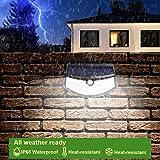 Aootek 92 Led Solar outdoor motion sensor lights