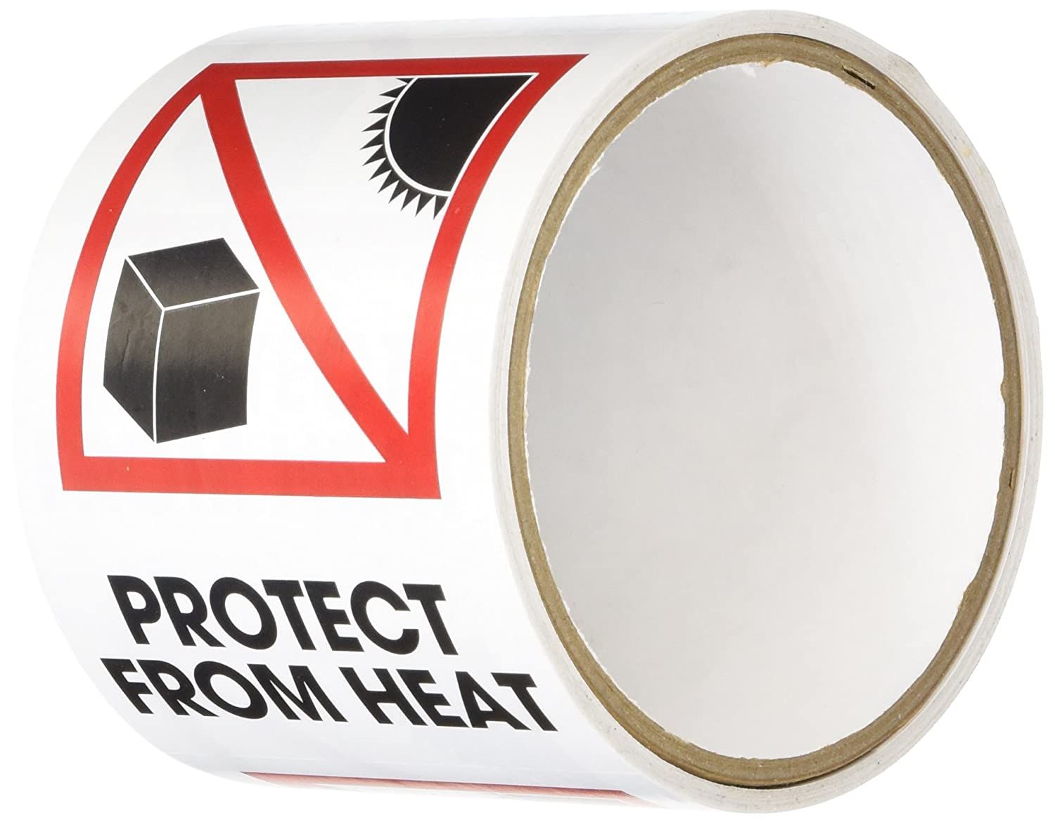 TapeCase SHIPLBL-078-50'Protect From Heat' Label - 50 per pack (1 Pack)