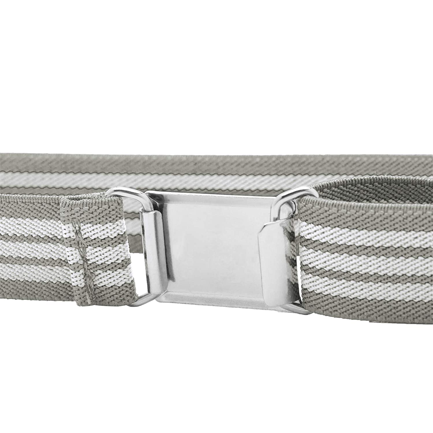 Buyless Fashion Kids Boys Adjustable Elastic Stretch Belt with Buckle 4 Pack 5122-PNK//RED//WHT//TAN