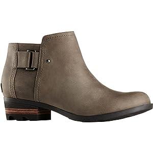 Sorel Lolla Ankle Boot - Women's Dark Grey/Black, 5.5