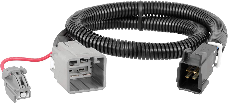 Amazon.com: CURT 51453 Quick Plug Electric Trailer Brake Controller Wiring  Harness, Select Ram 1500, 2500, 3500: Automotive | 2015 Dodge Ram 2500 Wiring Harness Ac Controlls |  | Amazon.com