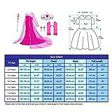 Luxury Princess Dress Costumes with Shining Long