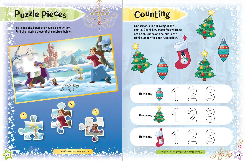 Disney Christmas 2021 Disney Christmas Annual 2021 9781405299619 Amazon Com Books