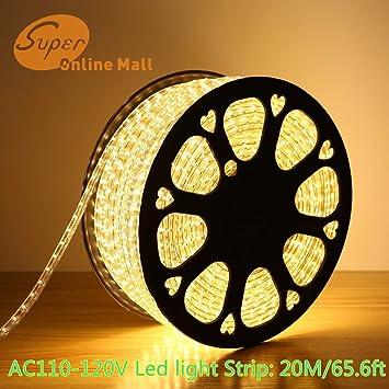 Superonlinemalltrade ac 110 120v flexible led strip lights 60 superonlinemalltrade ac 110 120v flexible led strip lights 60 ledsm aloadofball Images