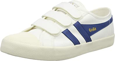 New Mens Gola Navy Coaster Canvas Trainers Lace Up