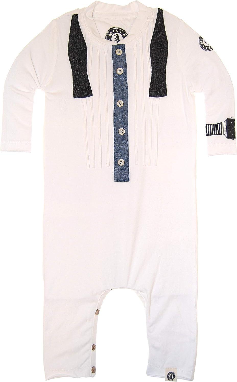Mini Shatsu Ruffled Bow Tie Henley Shirt