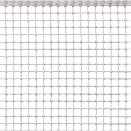 Rete Plastica Per Recinzioni Prezzi.Tenax Rete Protettiva In Plastica A Maglia Quadrata Per Balconi