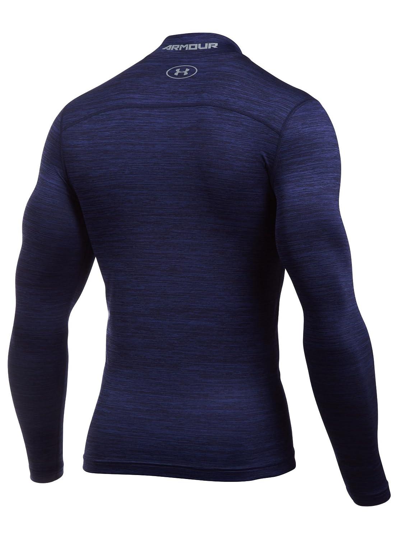 Under Armour Mens Ua Coldgear Twist Mock Long-Sleeve Shirt