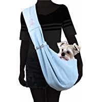 Alfie Pet - Chico Reversible Pet Sling Carrier - Color: Blue