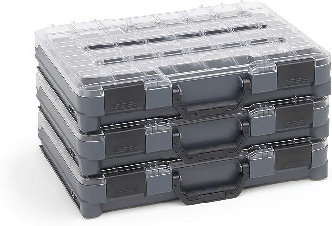 Caja Surtido Tornillos Pequeño 3x Bosch Sortimo T-Boxx Ideal Tornillos Lagersystem Alternativa para Almacén Piezas Pequeñas: Amazon.es: Bricolaje y herramientas