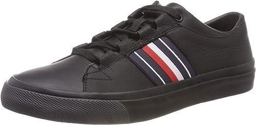 Tommy Hilfiger Corporate Leather Low Sneaker, Scarpe da Ginnastica Basse Uomo