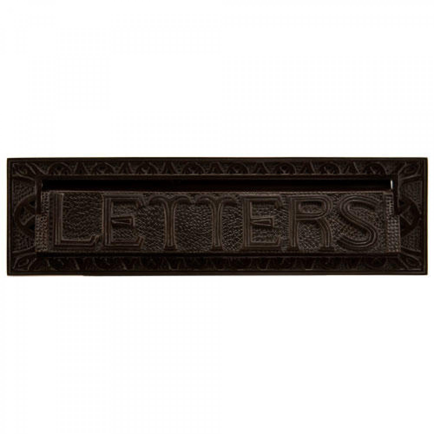 Naiture 13'' Heavy Duty ''LETTERS'' Mail Slot In Oil Rubbed Bronze by SH