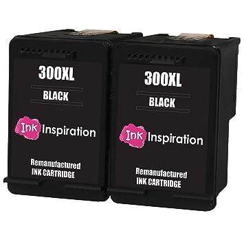 Negro INK INSPIRATION® 2 Cartuchos de Tinta Remanufacturados para ...