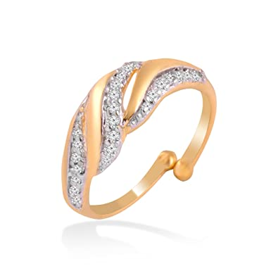 Buy Jewelscart Traditional Rings For Girls Women Gold Plated In