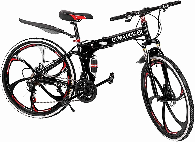 26 Wheels Mountain Bike Daul Disc Brakes