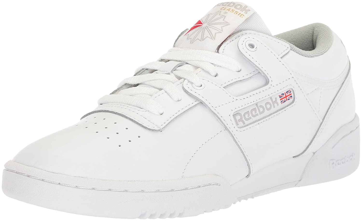 Reebok Men's Workout Low B073YDM6BS 10.5 D(M) US|Int-white/Grey