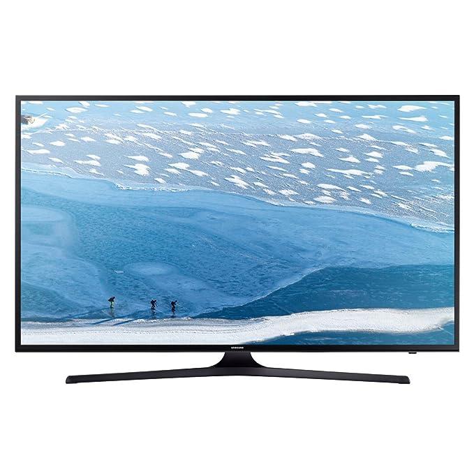 "47 opinioni per Samsung Poll Flat UHD Serie KU6050 Smart TV da 55"", Nero"