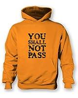 You Shall Not Pass Slogan Kids Hoodie