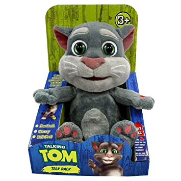 Amazon Com Dragon Toys Talking Tom Repeats What You Say Toys Games