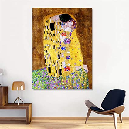 Enjoyable Klimt The Kiss Modern Framework Already Framed 70 X 100 Download Free Architecture Designs Pendunizatbritishbridgeorg