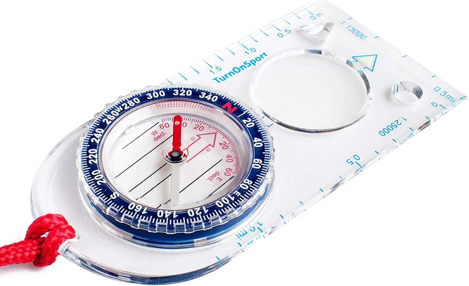 Orienteering Compass - Hiking Backpacking Compass - Advanced Scout Compass Camping and Navigation - Boy Scout Compass Kids - Professional Field Compass for Map Reading - Best Survival Gifts