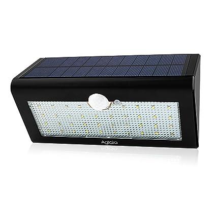 Aglaia 38 4 W Solar Luces LED, Sensor PIR de movimiento lámpara de pared con
