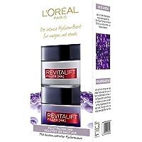 L'Oreal Paris 巴黎欧莱雅Revitalift Filler 面霜 白天和黑间面部护理套装