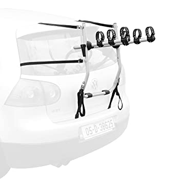Rear Boot Mounted 3 Bikes Carrier Rack Easy To Fit Amazon Co Uk