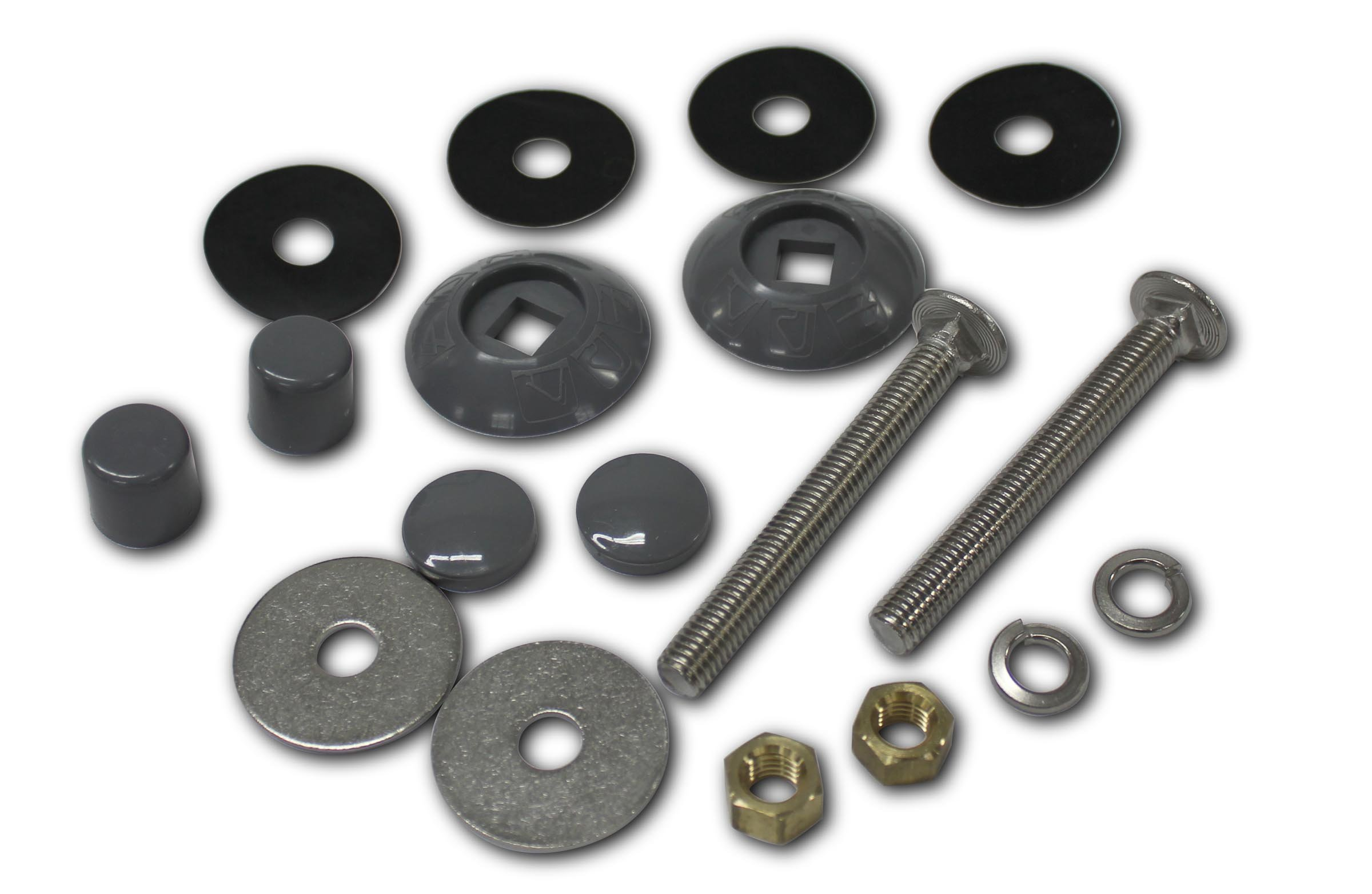 S.R.Smith 67-209-911-SS-PG Residential Diving Board Mounting Kit, Pewter Gray by S.R. Smith