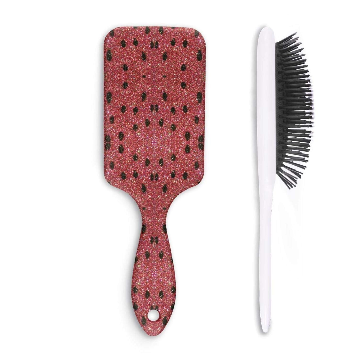 Beauty Women And Men Grooming Styling Wet & Dry Watermelon seeds Professional Straighte Cushion Hair Brush