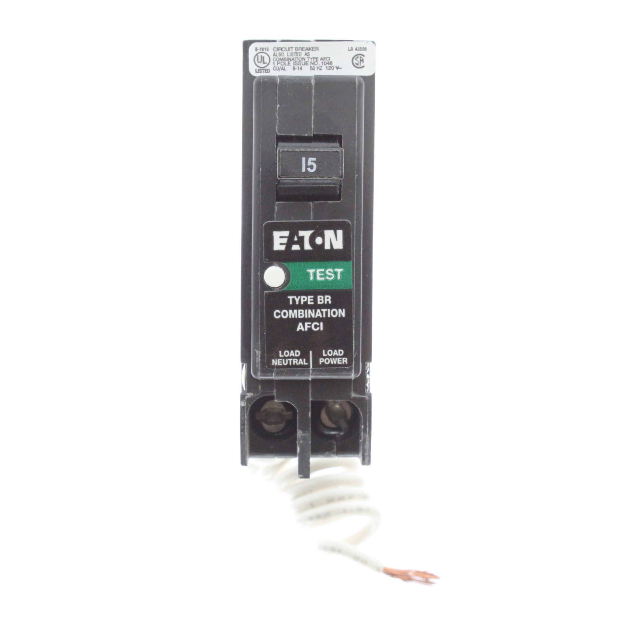 Best Rated In Arc Fault Circuit Breakers Helpful Customer Reviews Spark Fuse Breaker Box Brcaf115 Cutler Hammer Afci Product Image