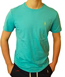 1bed137b Polo Ralph Lauren Men's Pony Logo Crew Neck T-Shirt