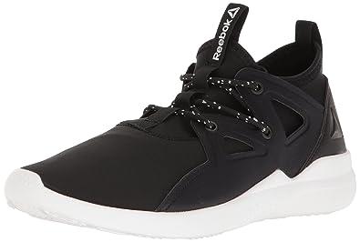 Reebok Women's Upurtempo 1.0 Dance Shoe, Black/White, ...