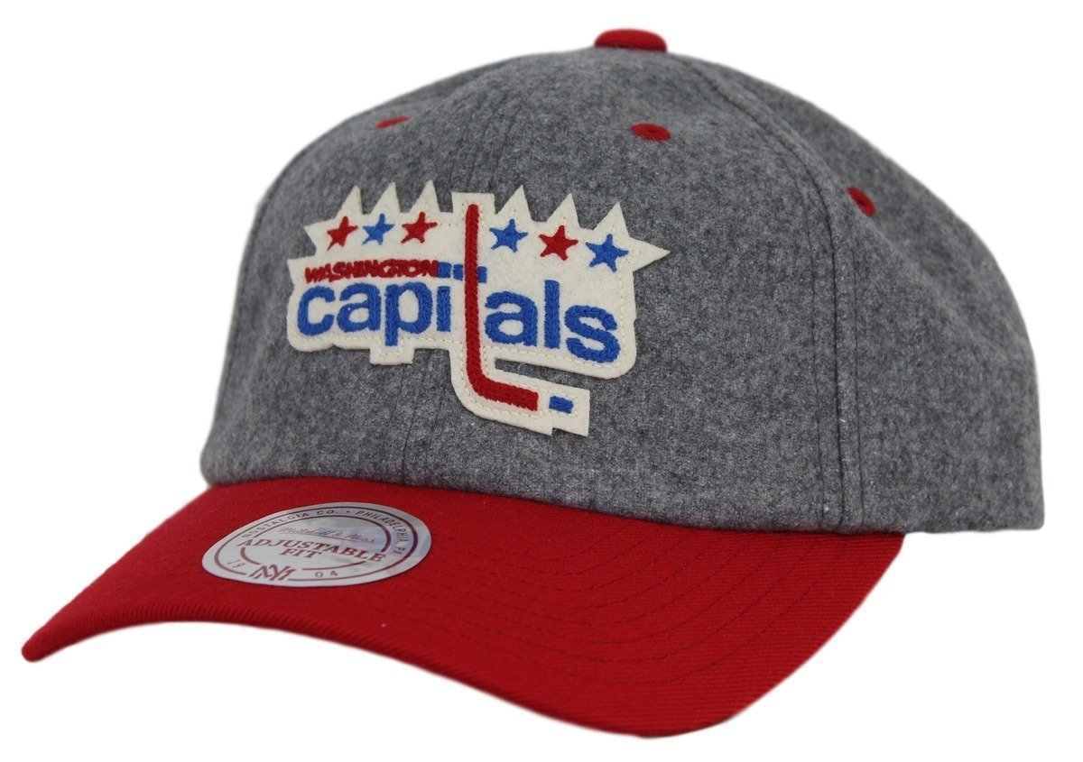 5ad89b00ddb8b6 ... release date washington capitals mitchell ness nhl vintage wool slouch  adjustable hat amazon sports outdoors 61498