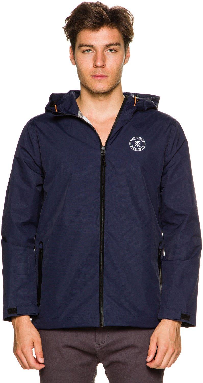 New Roark Men's The Savage Jacket Waterproof Blue