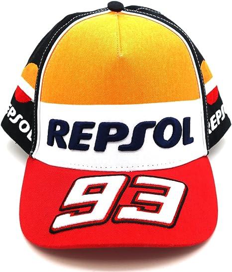 Honda Repsol Marc Marquez 93 Moto GP Gorra Oficial 2017: Amazon.es ...
