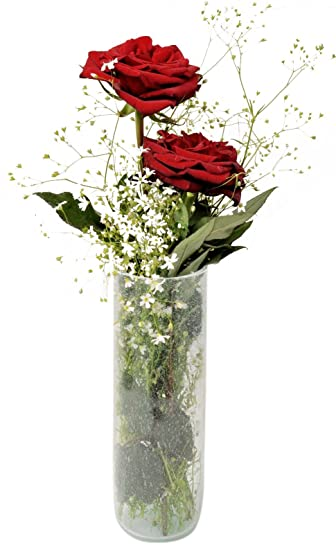 Amazon Tall Bud Vase 100 Recycled Glass Mouth Blown For A
