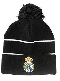 395daf4a3f5 Amazon.com  Real Madrid Beanie Pom Pom Skull Cap Hat New Season 2015 ...