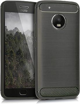 kwmobile Funda Compatible con Motorola Moto G5 Plus: Amazon.es ...