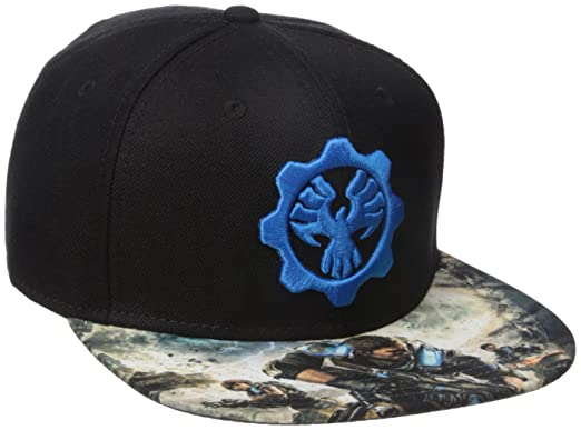 b2ee5c1336169 Amazon.com  Bioworld Men s Gears of War 4 Snapback Cap