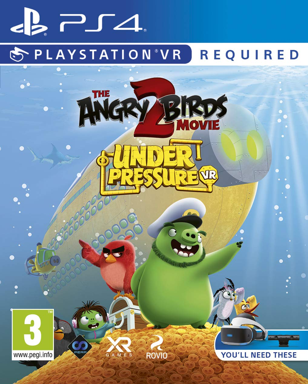 Amazon Com The Angry Birds Movie 2 Vr Under Pressure Psvr Ps4 Video Games
