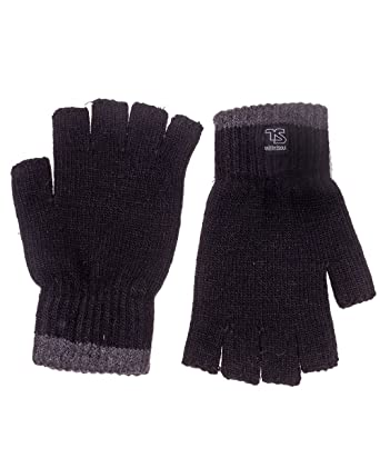 Twisted Soul Mens Brand Logo Plain Design Winter Fashion Knit