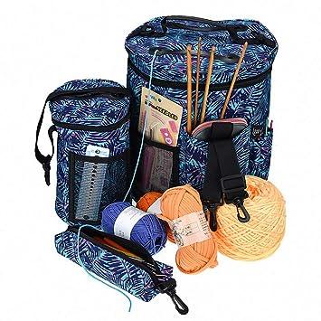 Amazon.de: Stricktasche - Yarn Tote - Häkeln Storage & Knitting ...