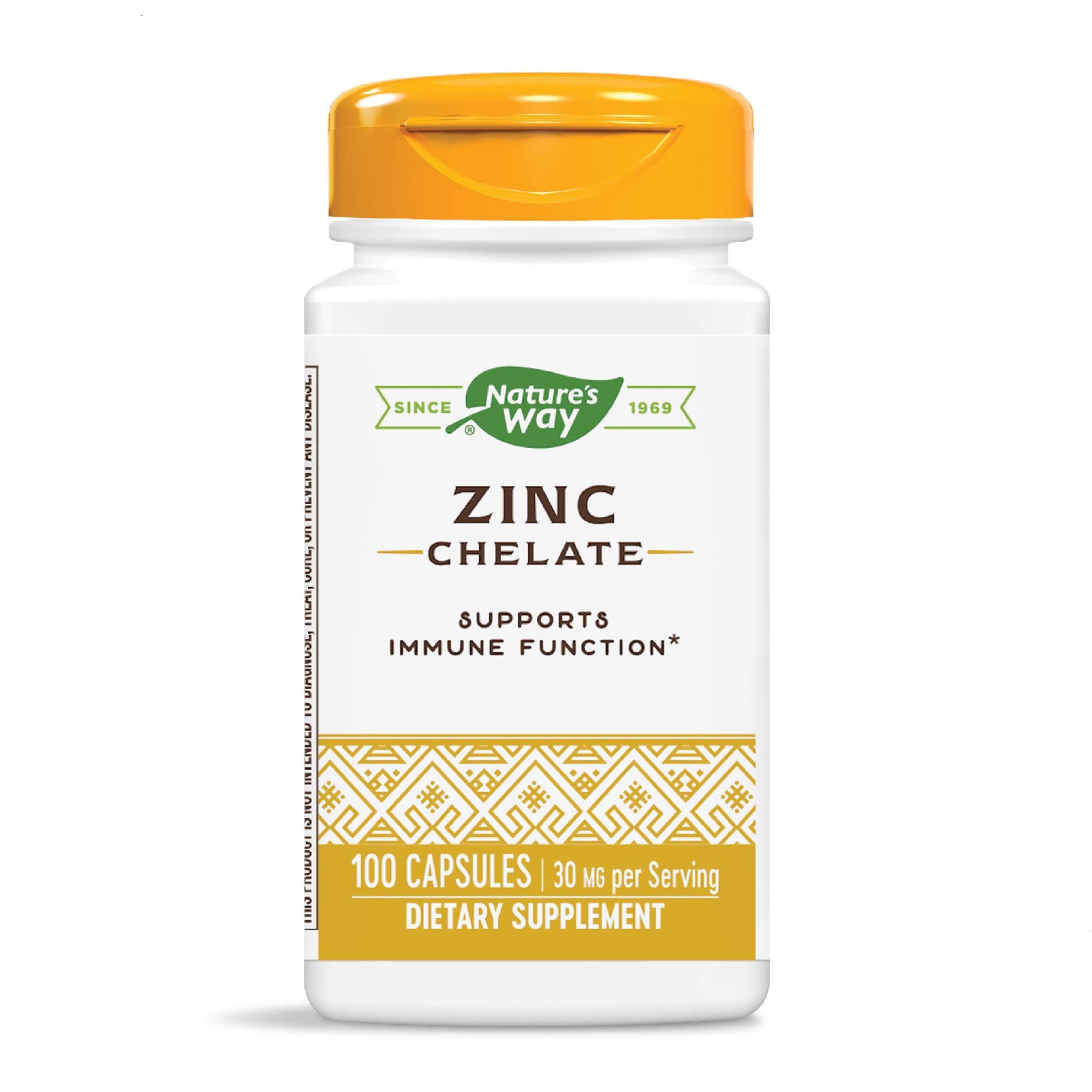 Nature's Way Zinc, 30 mg per serving (Packaging May Vary)