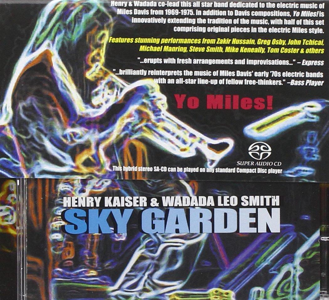 henry kaiser wadada leo smith yo miles sky garden yo miles rh amazon com